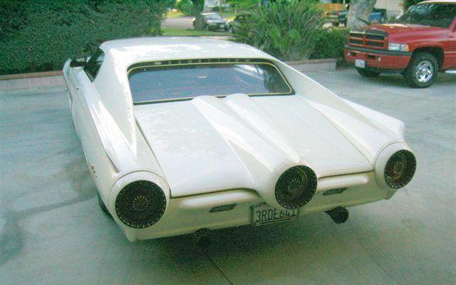 Top View 1963 Ford Thunderbird Concept Car Picture