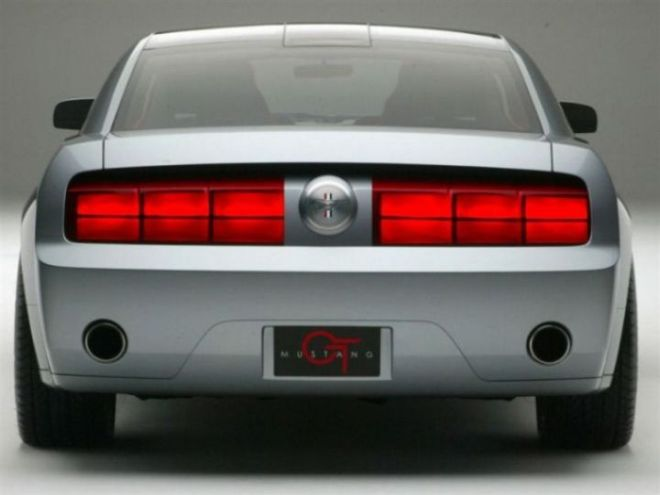 2005 mustang concept