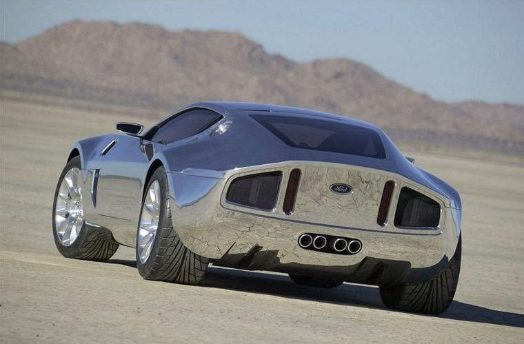 rear left 2005 Ford Shelby GR-1 Aluminum Concept Car Picture