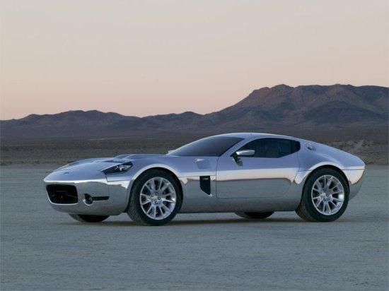 left side 2005 Ford Shelby GR-1 Aluminum Concept Car Picture