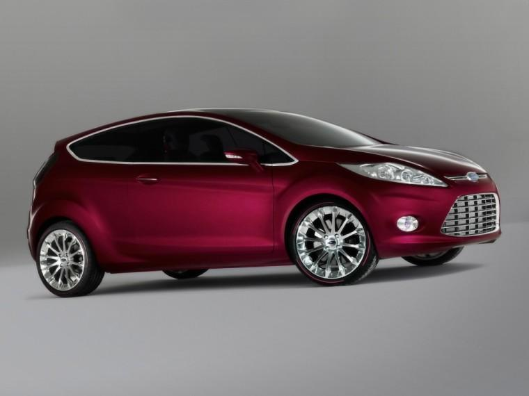 front right 2007 Ford Verve Concept Car Picture
