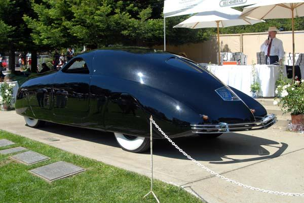 Rear Left Side 1938 Phantom Corsair Concept Car Picture