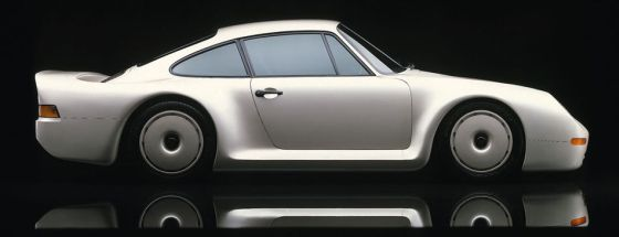 Right Side 1983 Porsche 959 Gruppe B Concept Car Picture